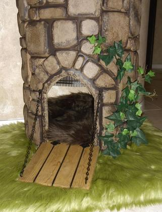 Castle Themed Cat Trees