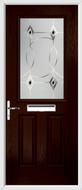 2 Panel 1 Square Composite Door fusion art