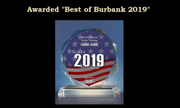 "Awarded ""Best of Burbank 2019"" by the Burbank Award Program"