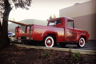 1957 Ford F-100 Auto Resto Lint repair