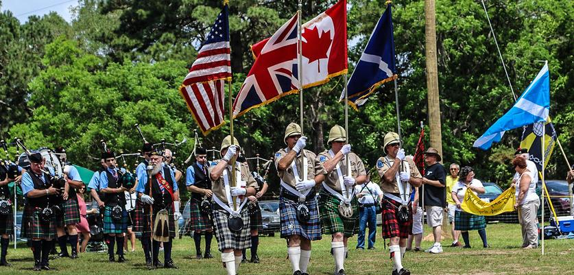 Savannah's Scottish Games Held at Bethesda Academy