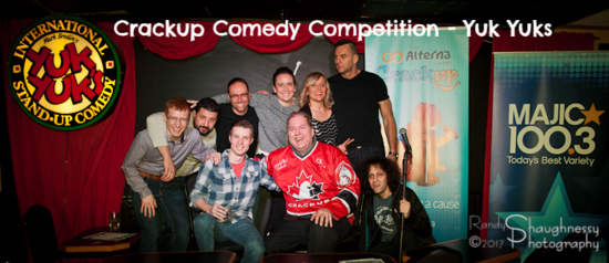 Crackup Comedy Competition - Yuk Yuks