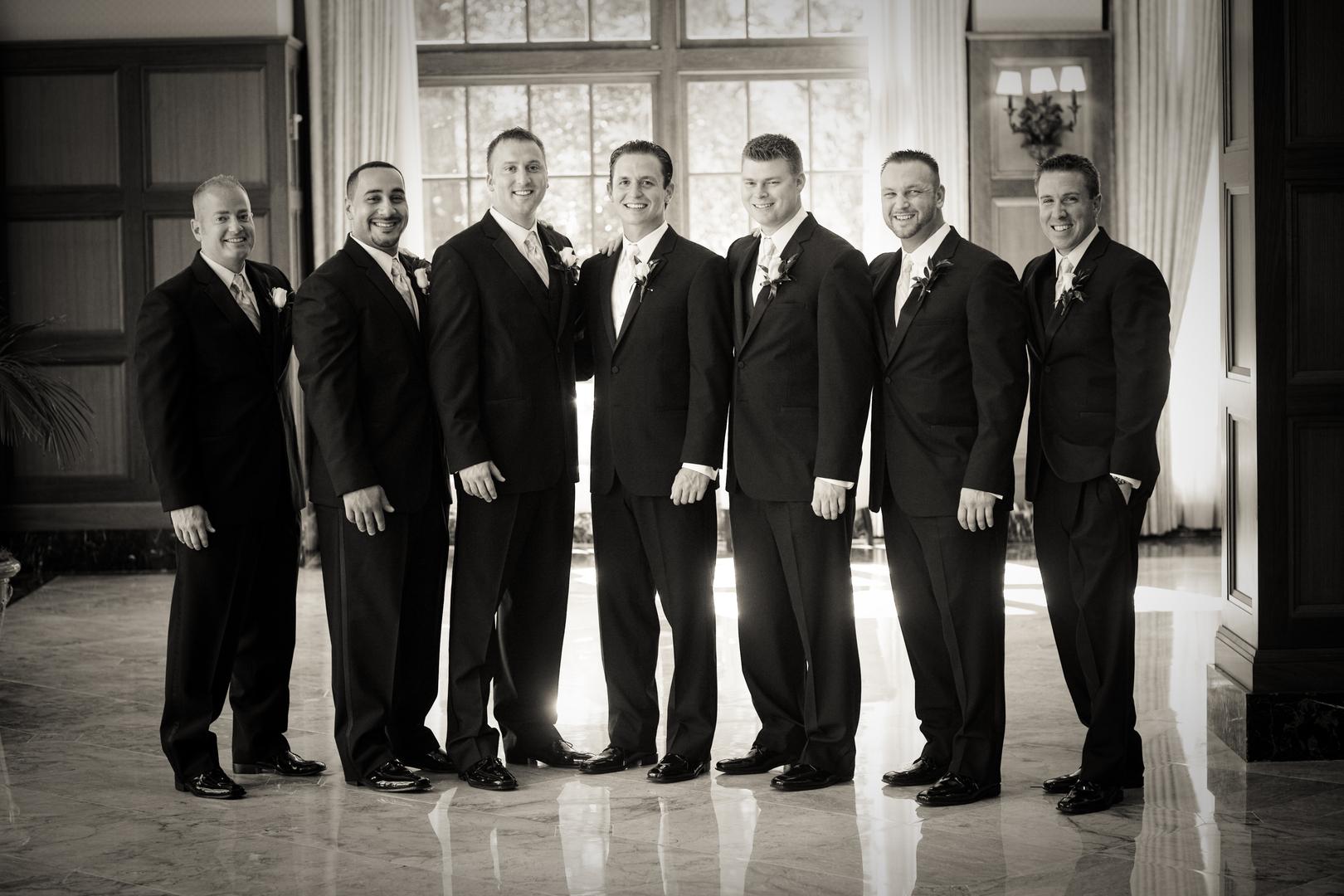 Wesner Tuxedo - Wedding Tuxedos, White Tuxedo, Grey Tuxedo
