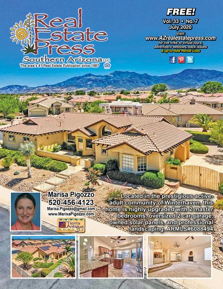 Real Estate Press, Southern Arizona, Vol. 33, No. 7, July 2020