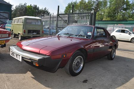1989 FIAT X/19 GRAND FINALE LIMITED EDITION GOOD CONDITION LOW MILES MOT