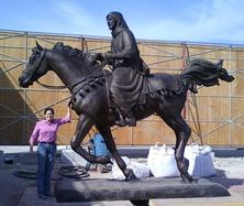Bronze Horse Statue Larger Than Life Size