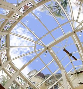 Custom Glass Roof Conservatory