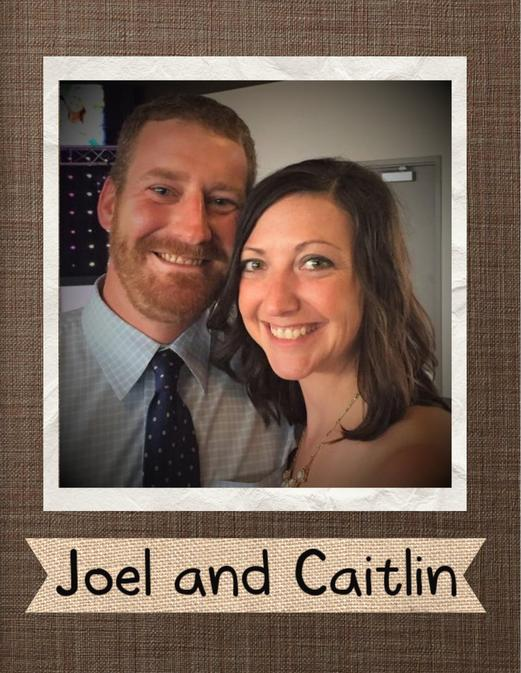 Caitlin and Joel Cover Photo