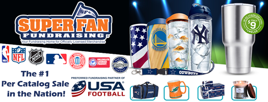 superfan tervis fundraising cups and tumblers