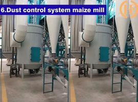 dust control system in the flour milling machinery