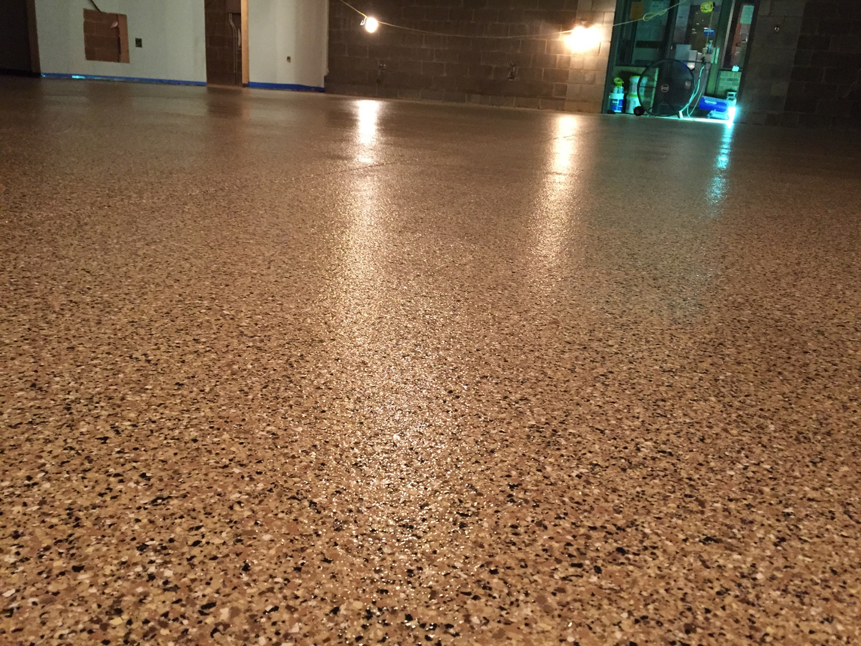 Chip Epoxy Flooring