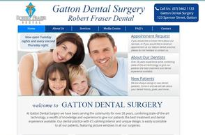 Gatton Dental Surgery | Robert Fraser Dental Website Design | Digital Marketing Professionals Toowoomba