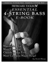 Essential 4-String Bass E-Book Fretboard Toolbox