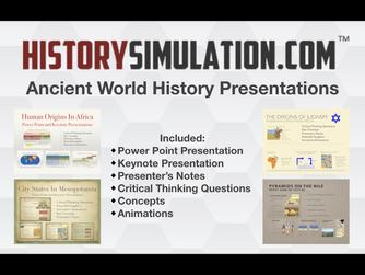 Ancient World History Power Points