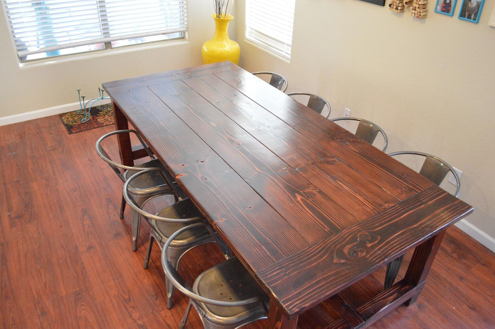 farmhouse table for 8 Farmhouse Tables for 8 or more farmhouse table for 8