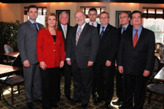Maryland tax attorney Charles Dillon meeting with the President of Croatia and other dignitaries