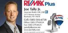 Joe Tally Remax Realtor Rochester NY