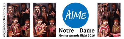 AIME Notre Dame Awards Night