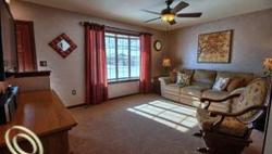 Living Room Staged by Downriver Home Staging