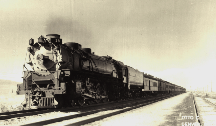 The Overland Limited ca.1941.
