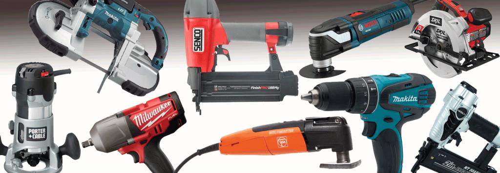 様々な電動工具