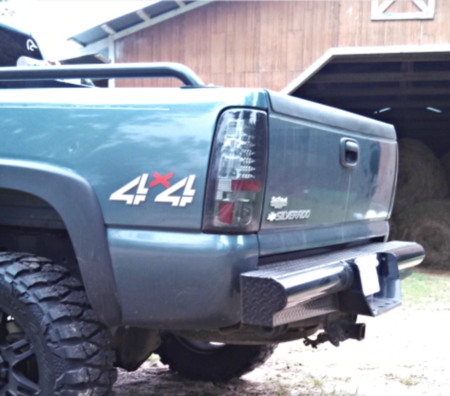 Ram 1500 Towing Capacity >> Chevy 2500HD/3500HD Rear Replacement bumpers
