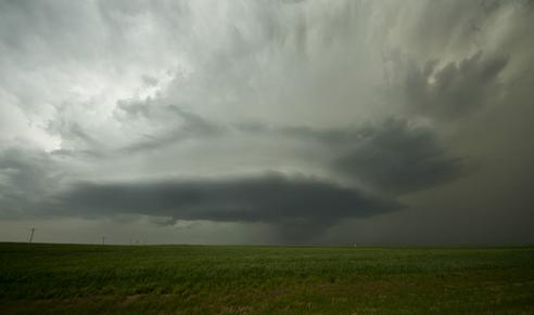 Great Bend Kansas Tornado and Supercell