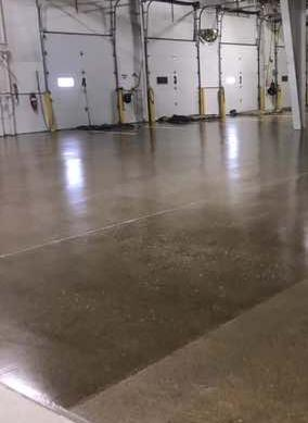New flooring in Edgerton, Ohio plant, Covington Box