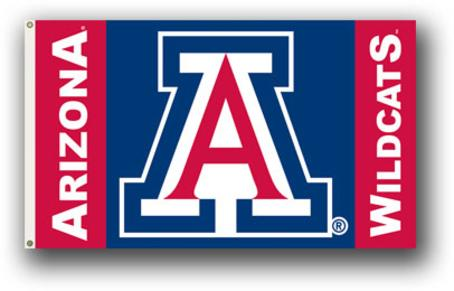 University of Arizona Wildcats 3 x 5 Flag
