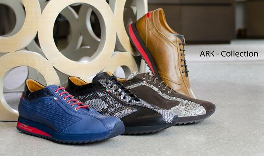 The Añel ARK Collection shoes are 100% Made in Italy with the finest materials.