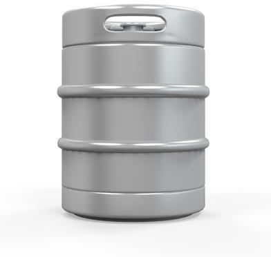 Image of a 15.5 gallon beer keg