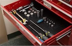 Freezone tool organizer in tool chest