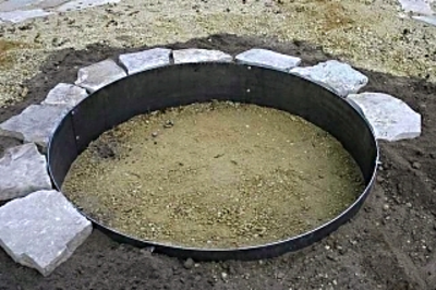 Mild Steel Fire Pit Ring Fire Pit Ring For Sale