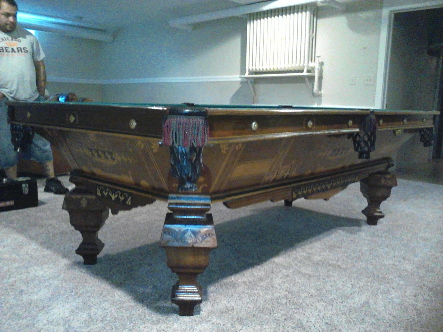 tables fix refelts piano brad table acme movers perth old pool