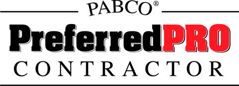 Pabco PreferredPRO certification; Pabco PreferredPRO; Pabco PreferredPRO logo; Houston roofing contractor