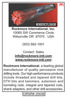DTH Hammers, Rockmore International