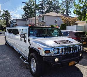 Hummer white Limo NYC concert ideas