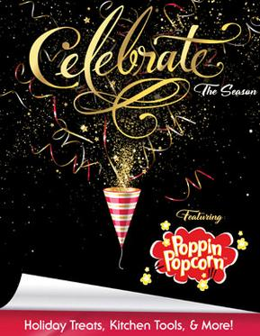 Poppin Popcorn Fundraiser Celebrate the Season Brochure