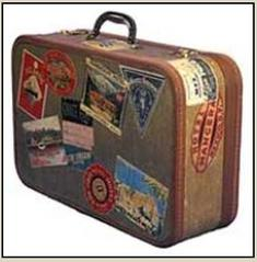 Suit case photo destined for Ajmer Sharif Dargah