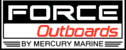 Force outboard motor lower unit seals and seal kits