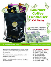 Boston Coffee Roasters Backpack Coffee Fundraiser