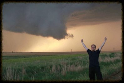 Wall Cloud on Tornado Tours