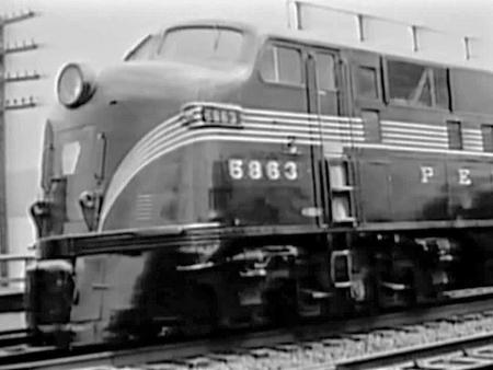 Pennsylvania Railroad's Progress on the Rails was a promotional film from 1952.