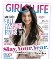 Girls' Life magazine homepage