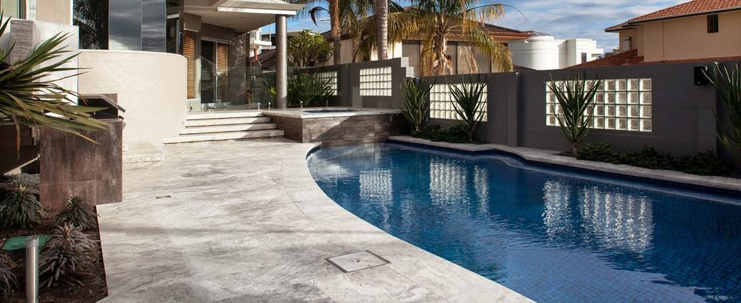 Travertine Pavers Houston for Patio or Pool Deck