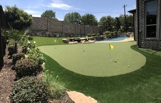 Backyard Putting Greens Dallas Fort Worth Tx