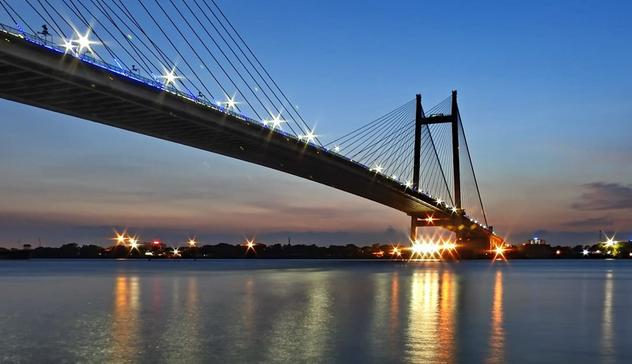 2nd Hoogly Bridge On Ganges Kolkata Sight Seeing