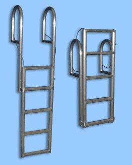 Boat Dock Accessories: Aluminum Dock Ladders.