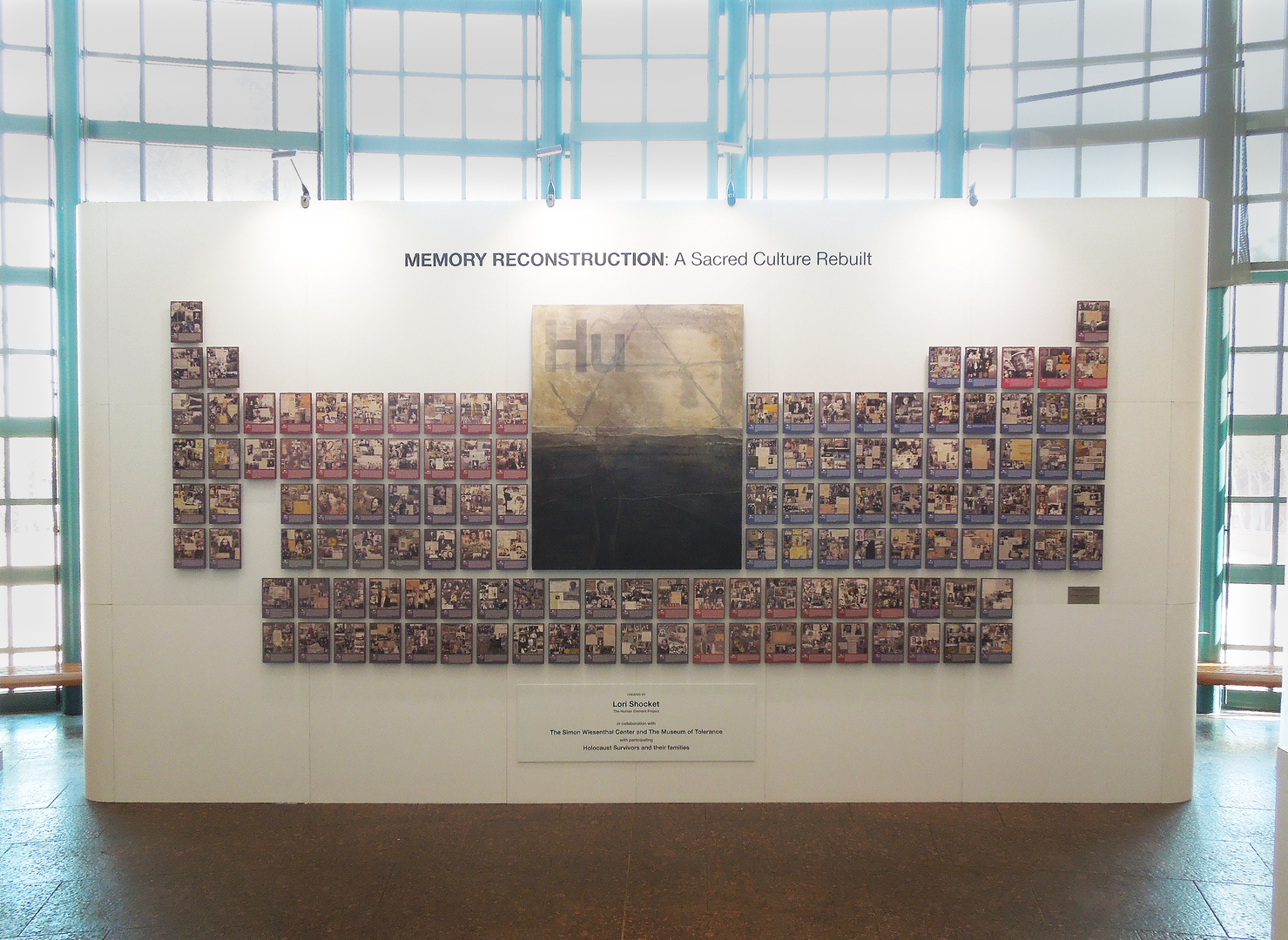 museum of tolerance memory reconstruction original collages