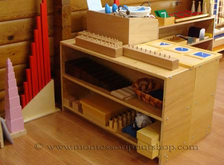 overview of the primary Montessori sensorial program - Montessori Print shop
